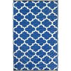 Fab Rugs World Tangier Regatta Blue/White Indoor/Outdoor Area Rug