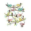 Luca and Company Artwork-123 Birds Canvas Art