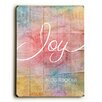 Artehouse LLC Joy is Contagious Wood sign
