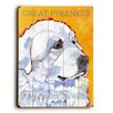 Artehouse LLC Great Pyrenees Wood Sign