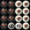 <strong>Imperial</strong> MLB Billiard Ball Set