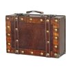 Quickway Imports Antique Style Small Suitcase