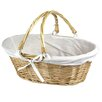 Quickway Imports Oval Willow Basket