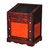 Quickway Imports Old Stlye Desk Podium Chest