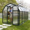 "Rion Greenhouses EcoGrow 2 Twin Wall 6' 4"" H x 6' 5"" W x 10' 4"" D Polycarbonate 4 mm Greenhouse"