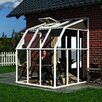 """Rion Greenhouses Sunroom 2 8' 1"""" H x 6' 6"""" W x 6' 6"""" D Polycarbonate 4 mm Greenhouse"""