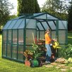 "Rion Greenhouses Prestige 2 Twin Wall 7' 9"" H x 8' 9"" W x 8' 8"" D Polycarbonate 4 mm Greenhouse"