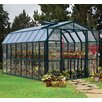 "Rion Greenhouses Prestige 2 Clear 7' 9"" H x 8' 9"" W x 16' 10"" D Polycarbonate 4 mm Greenhouse"