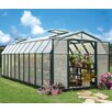 "Rion Greenhouses Hobby Gardener 2 Twin Wall 6' 9"" H x 8' 8"" W x 20' 8"" D Polycarbonate 6 mm Greenhouse"