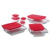 Pyrex Easy Grab™ 14 Piece Bake and Store Set