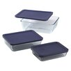Pyrex 3 Piece Storage Set