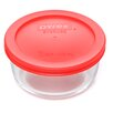Pyrex 2 Cup Round Storage Container (Set of 6)