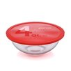 <strong>Pyrex</strong> Smart Essentials 4 Qt Mixing Bowl with Red Plastic Cover