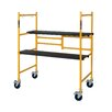 Metaltech 3.81' H x 3.42' W x 1.88' D Jobsite Series Folding Scaffold