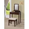 Williams Import Co. Lilette Vanity Set with Mirror