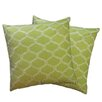 Special Edition by Lush Decor Trellis Zipper Pillow Shell (Set of 2)