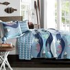 Special Edition by Lush Decor Sealife Quilt Set