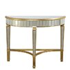 Elegant Lighting Florentine Half Moon Console Table