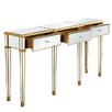Elegant Lighting Florentine 3 Drawer Console Table