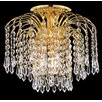 <strong>Falls 4 Light Semi Flush Mount</strong> by Elegant Lighting