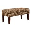 Kinfine Decorative Storage Entryway Bench