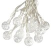 Paradise Garden Lighting Solar 50 Piece Strawberry Bulb String Light Set