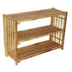 Bamboo54 Natural Bamboo Shelf Table