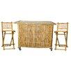 Bamboo54 3 Piece Set with Bamboo Tiki Bar
