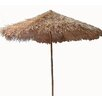 9' Thatched Bamboo Market Umbrella