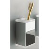 Wall Mounted Rectangular Toothbrush Holder