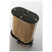 Toscanaluce by Nameeks Oval Linen Cart with Jute Bag