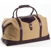 "<strong>Clava Leather</strong> Canvas 21"" Overnighter with Café Leather Accents"