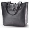 Clava Leather Colored Vachetta Small Open Tab Tote Bag