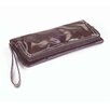 Wellie Foldover Clutch in Brown