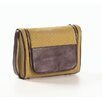 Clava Leather Canvas and Leather Hanging Toiletry Kit
