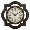 UMA Enterprises Toscana Scalloped Wall Clock