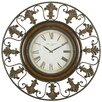 "<strong>UMA Enterprises</strong> Toscana Oversized 38"" Flower Wall Clock"