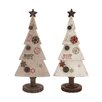 <strong>UMA Enterprises</strong> Christmas Tree Joy Figurines (Set of 2)