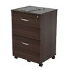 Inval Uffici Commercial 2 Drawer Mobile File Cabinet