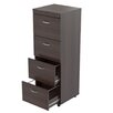 Inval Uffici Commercial 4-Drawer File Cabinet
