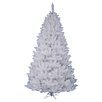 <strong>Vickerman Co.</strong> Crystal White Spruce 5.5' Artificial Christmas Tree with Stand
