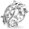 Kate Bissett Clear Cubic Zirconia Fashion Ring