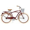 Huffy Deluxe Men's Cruiser Bike with Basket and Beverage Holder