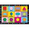 <strong>Fun Rugs</strong> Fun Time Shapes Kids Rug