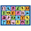<strong>Fun Time Sports Symbol Kids Rug</strong> by Fun Rugs