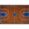<strong>Fun Rugs</strong> Supreme Basketball Court Kids Rug