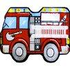 <strong>Fun Shape High Pile Fire Truck Kids Rug</strong> by Fun Rugs