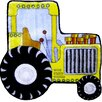 <strong>Fun Rugs</strong> Fun Shape High Pile Tractor Kids Rug