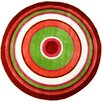 <strong>Fun Rugs</strong> Fun Shape High Pile Concentric Circles Kids Rug
