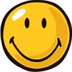<strong>Smiley World Yellow Smiley Kids Rug</strong> by Fun Rugs